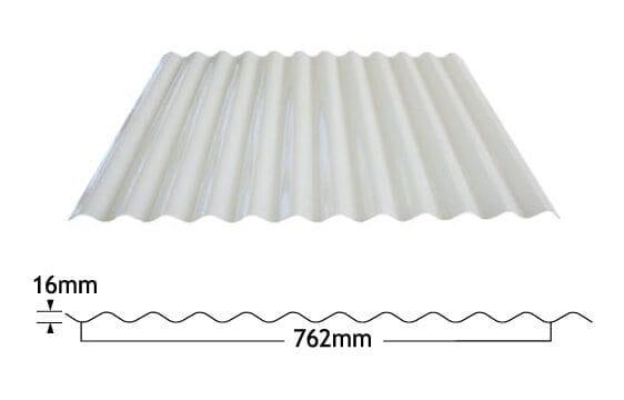 corrugated fibreglass