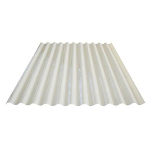 cream polycarbonate