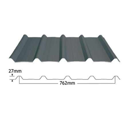 Five Rib Corrugated Roof Sheeting