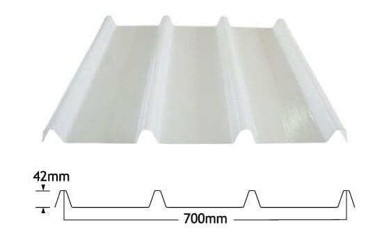 kliplok fibreglass