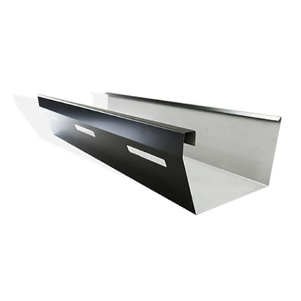 High Front Commercial Eaves Gutter