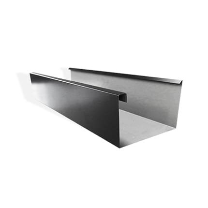Low Front Commercial Eaves Gutter