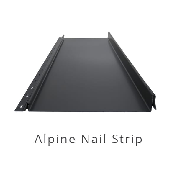Alpine Nail Strip Architectural Cladding