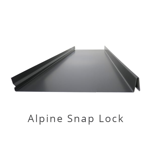 Alpine Snap Lock Architectural Cladding